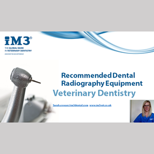 Vet Dentistry for Vet Nurses - 4 - Recommended Radiography Equipment